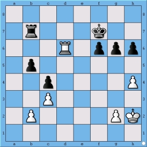 Magnus Carlsen admits to missing Anand's next idea of pawn to h5.