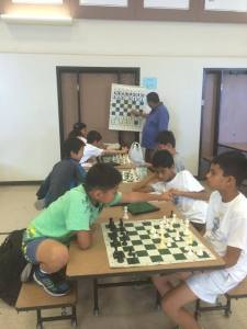 For four straight years, Coach Francisco has been teaching our campers confidence through attacking chess.