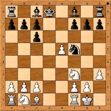Position after Magnus Carlsen plays 9. h3.