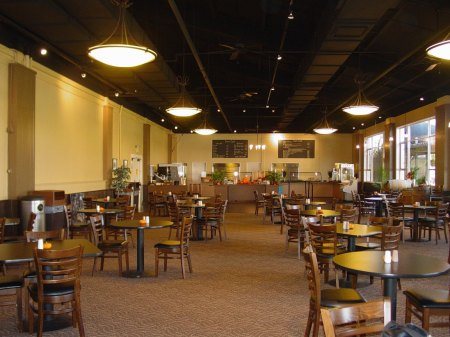 The San Mateo Event Center has a great selection of food on site!